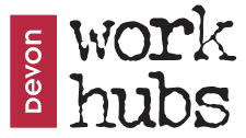 Devon Work Hubs logo