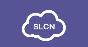 SLCN letters in a cloud