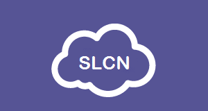 SLCN letters in a cloud