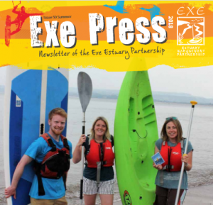 Exe Press newsletter cover