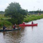 Canoeists on the Exe