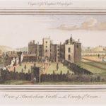 Old picture of Powderham Castle