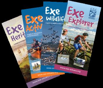 Photo of Exe Estuary leaflets