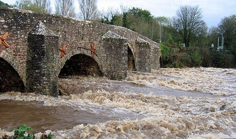Bickleigh floods