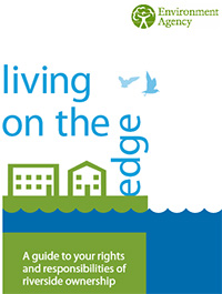 Environment Agency - cover of Living on the Edge document