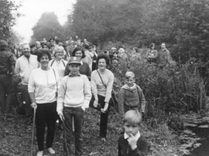 Start of the walk to save the Canal in 1969
