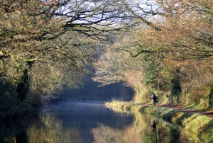 Fishing at Snakes Wood -