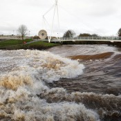 The Swollen River Exe Exeter