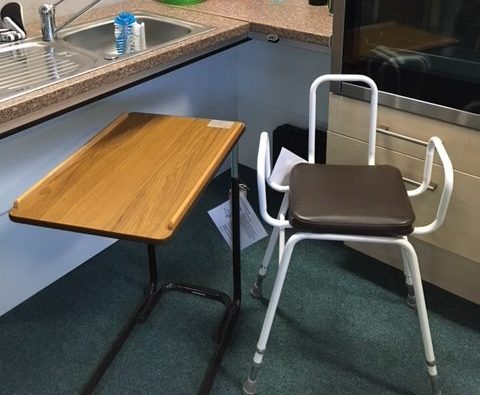 Perching stool and table