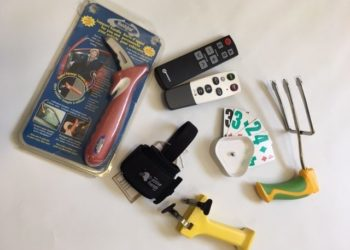 Gardening tools, handy bar, remote controls