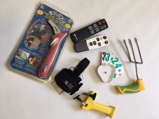 Gardening tools, handy bar, remote controls