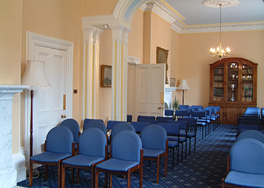 The Killerton Room in Larkbeare House