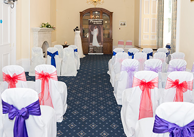 The Killerton Room at Larkbeare House