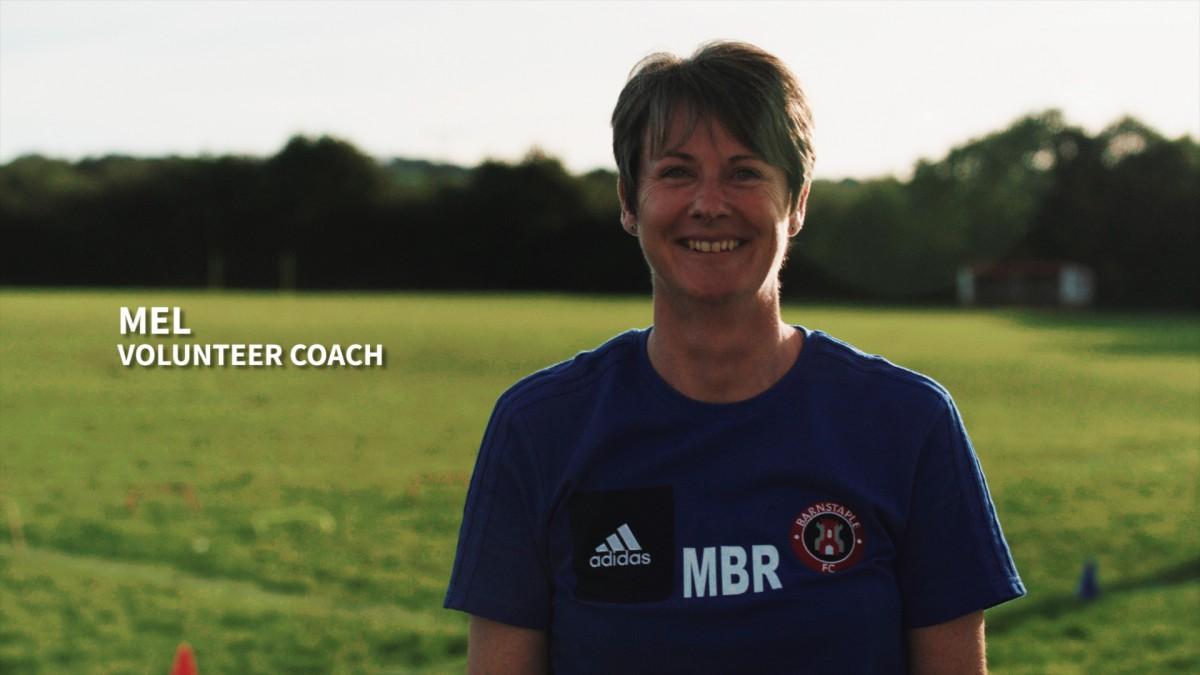 Mel - volunteer football coach