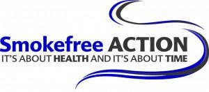 Smokefree Action Coalition logo_blue