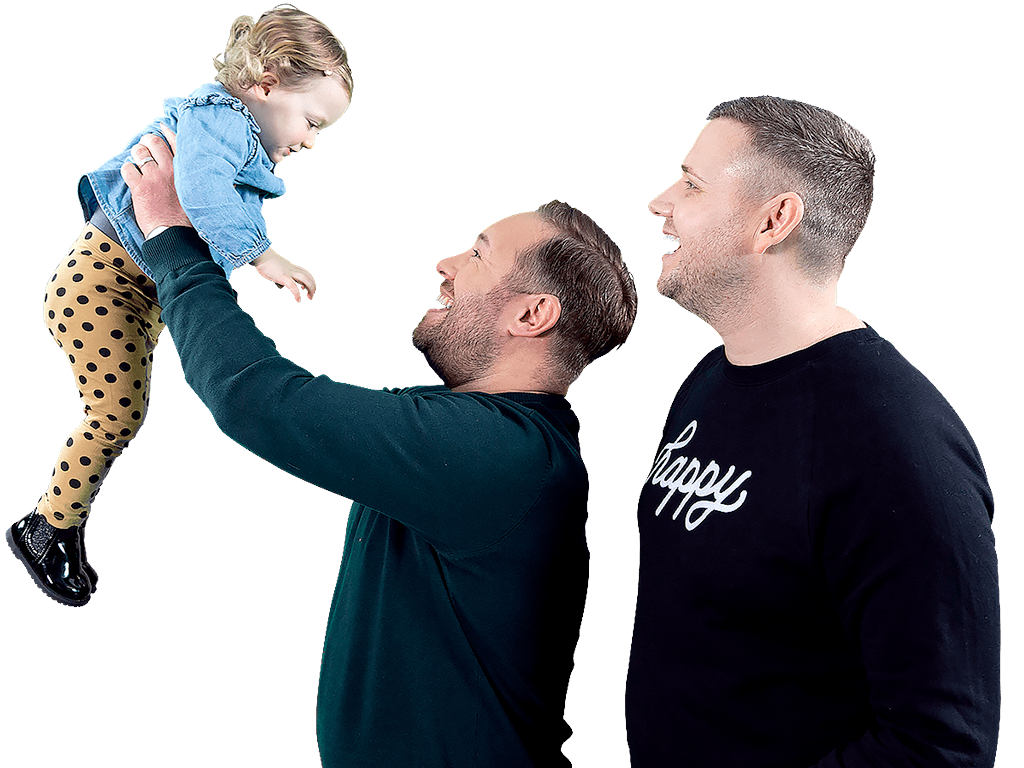 Family image –Andy & Craig